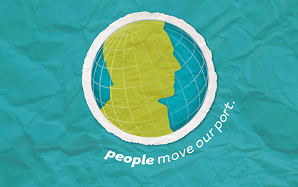 People Move Our Port Animated