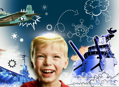 USS Lexington Celebrate the imagiNATION campaign