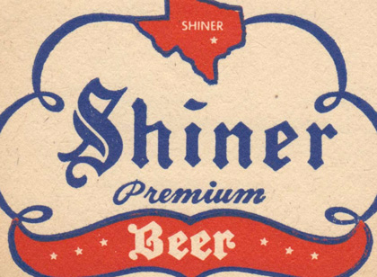 Shiner Beer POP