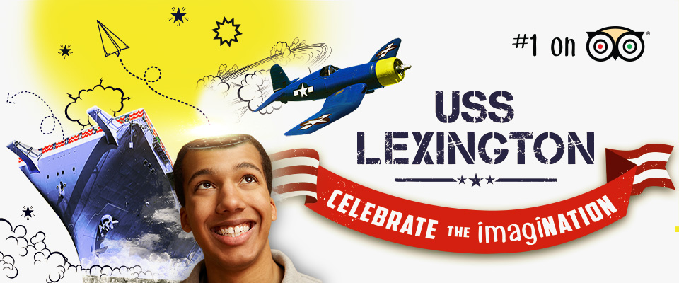 USS Lexington imagiNATION campaign
