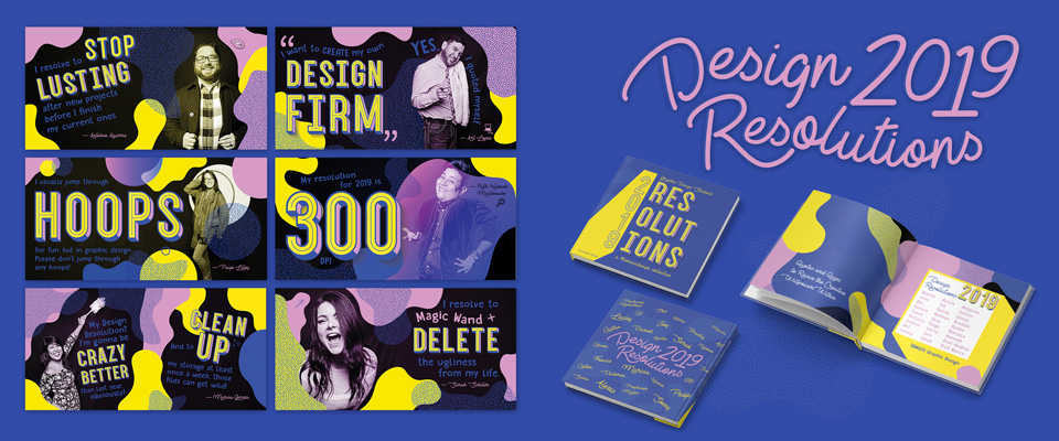 Design Resolutions 2019 Book